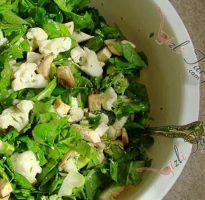 ıspanaklı karnabahar salatası