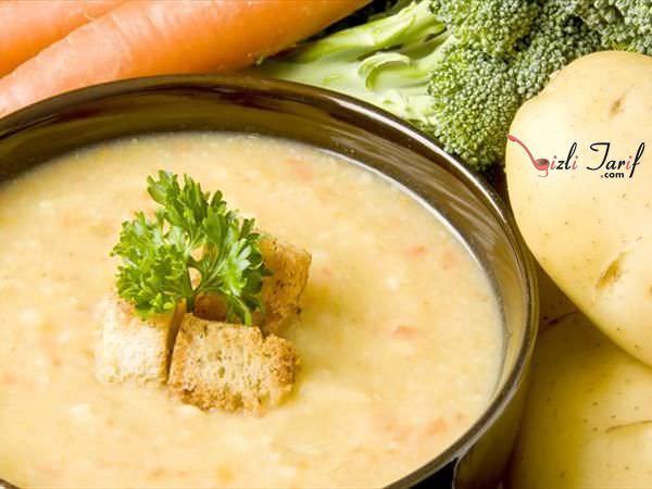 patates çorbası