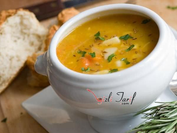 sebzeli mercimek çorbası tarifi resimli