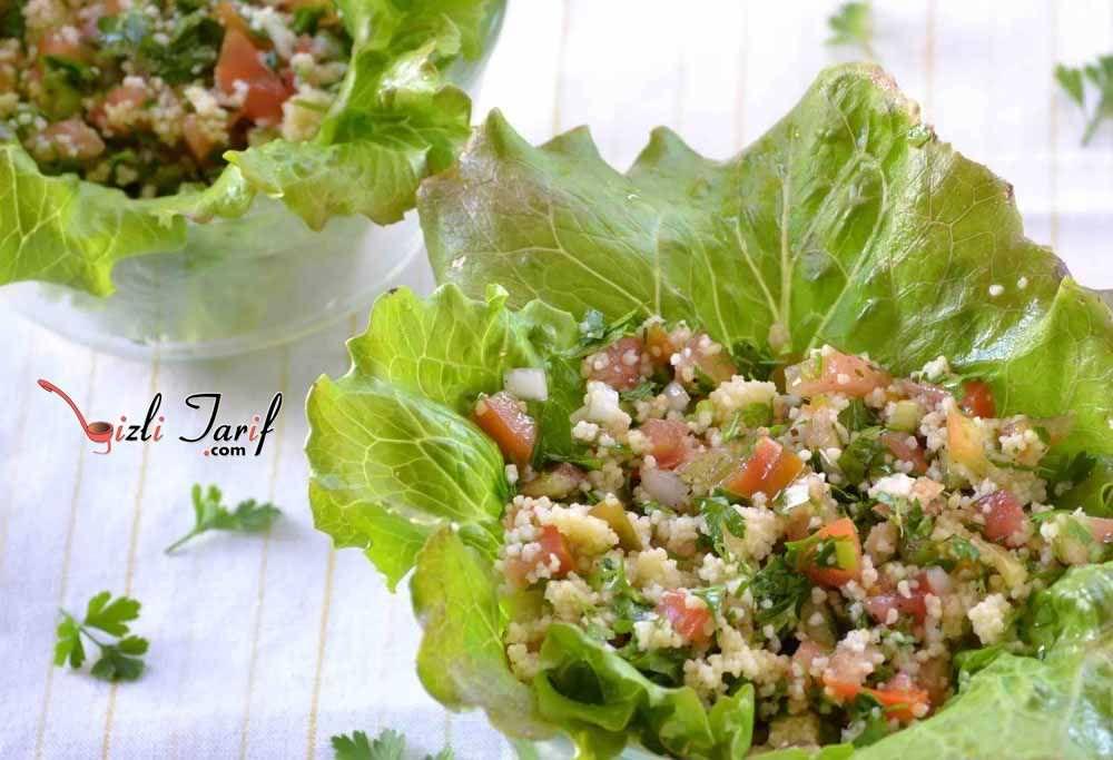 tabule salatası mezesi