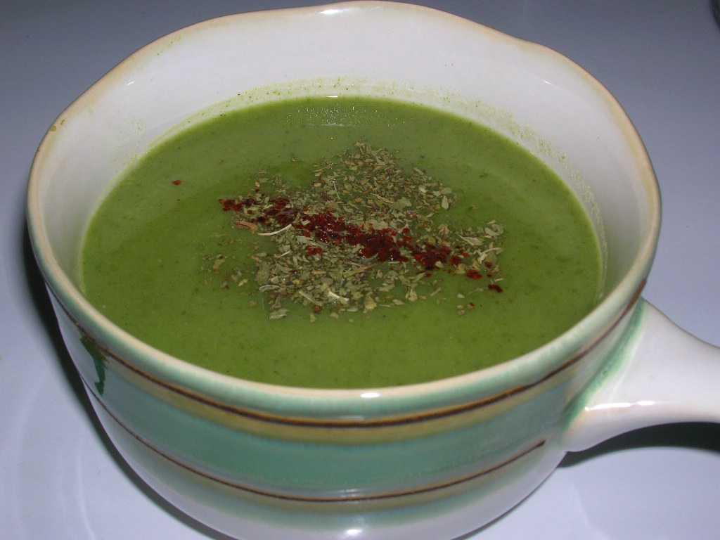 buğdaylı ıspanak çorbası